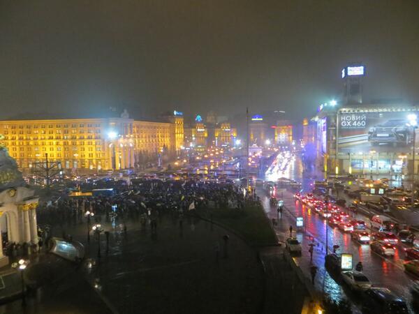 Night 2 at Euromaidan