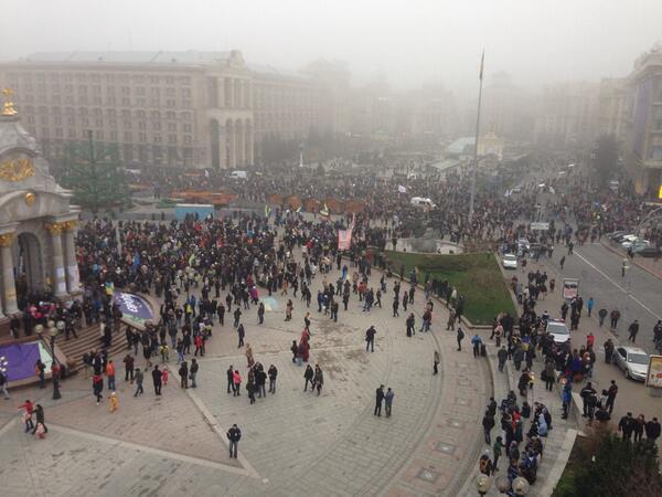 Rally at Maidan Nezalezhnosti