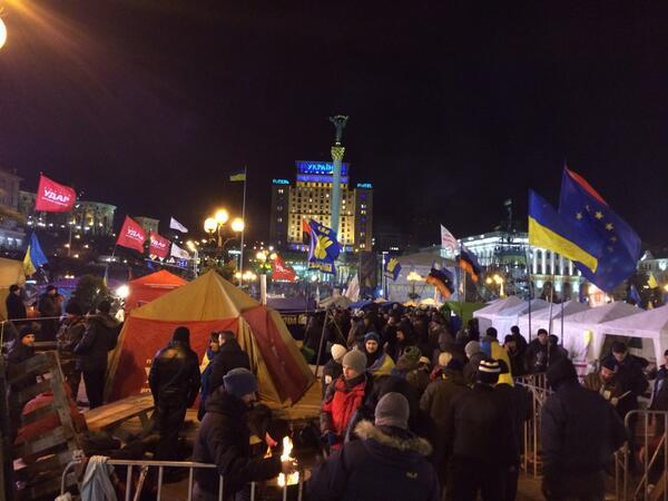 EuroMaidan camp is growing