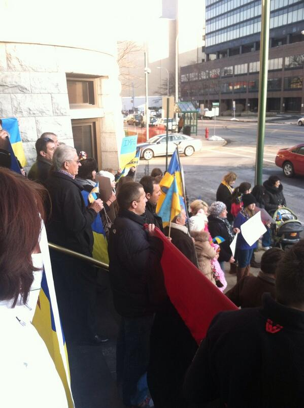 Euromaidan in Syracuse, New York