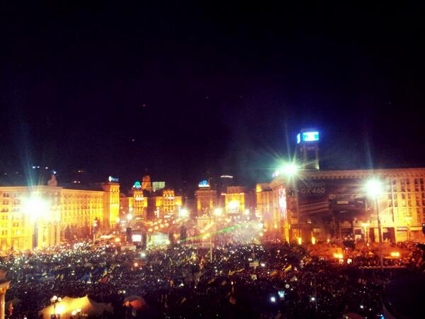 Okean Elzy on the Maidan