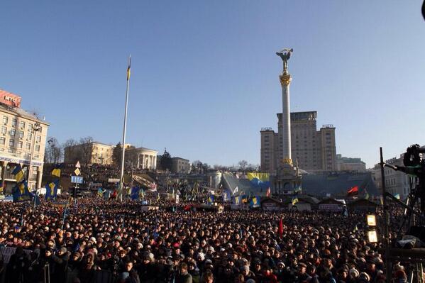Huge manifestation on Maidan in Kyiv this Sunday