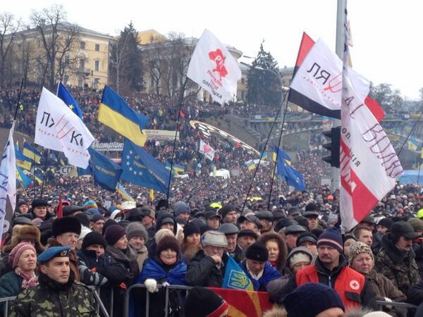 Rally at Maidan