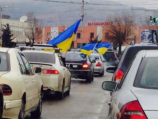 Automaidan in Tbilisi
