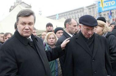 Yanukovych accepted the resignation of Azarov