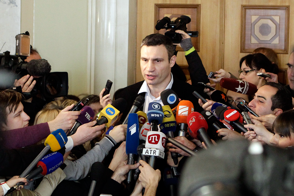Euromaidan amnesty law with additional conditions from authorities is unexceptable - @Vitaliy_Klychko