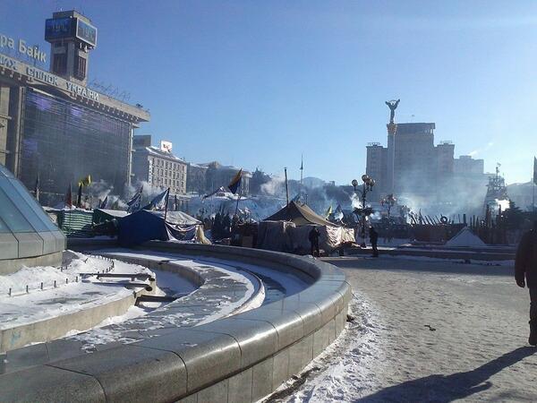 Minus 23C in Kyiv