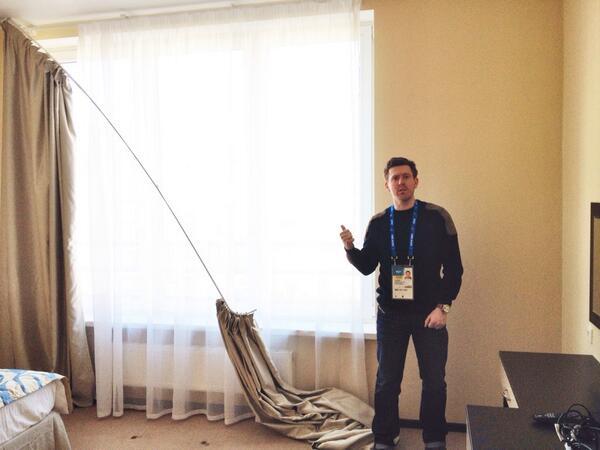 Hotel room at Sochi 2014