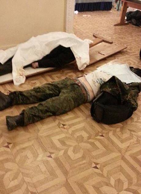 Killed demonstrators in Kyiv
