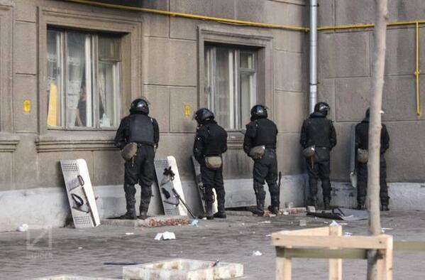 Police in Kyiv