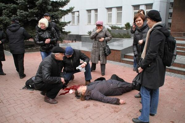 In Khmelnytsky Security Service killed woman. she dead in hospital Ukraine