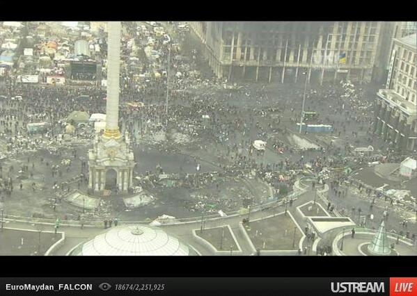 Crowd on Maidan
