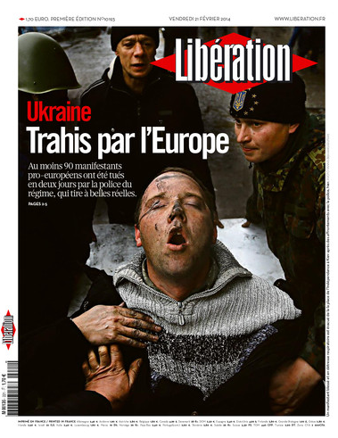 Ukraine - Betrayed by Europe - French newspaper Liberation