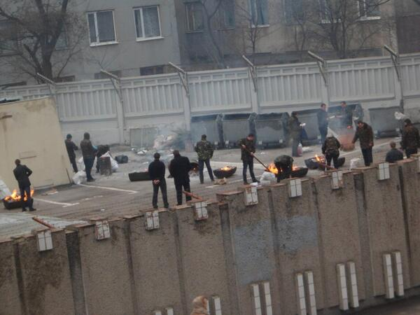 Security Service in Kharkiv is burning documents