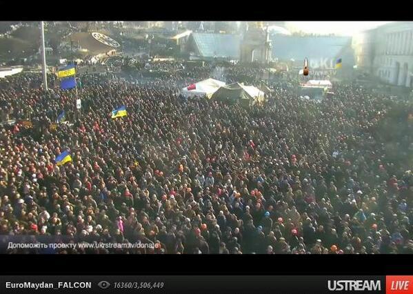 People at Maidan