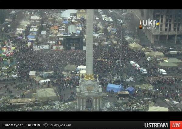 Big rally at Maidan