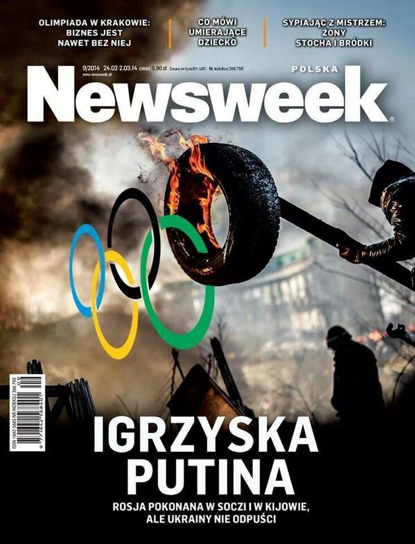 Newsweek Polska cover