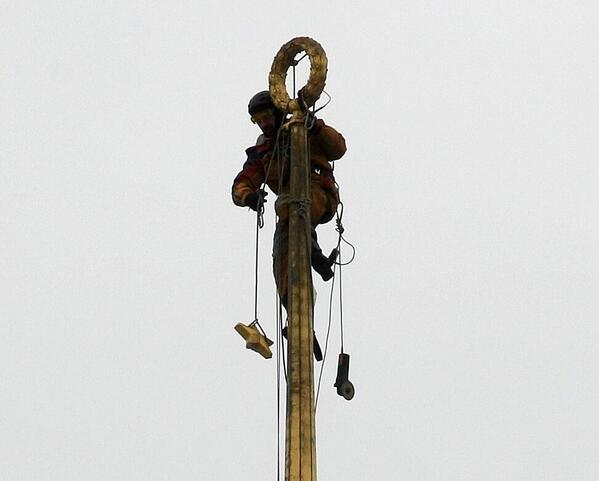 Soviet symbols over Rada were removed