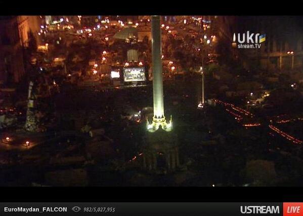 Memorial at Maidan