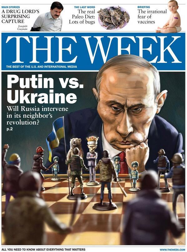 Putin vs Ukraine cover