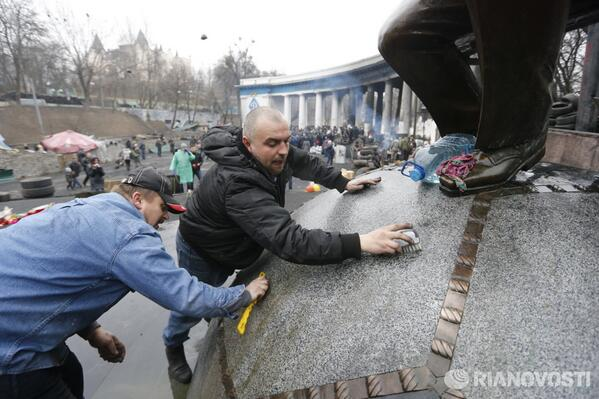A large-Scale cleanup in Kyiv