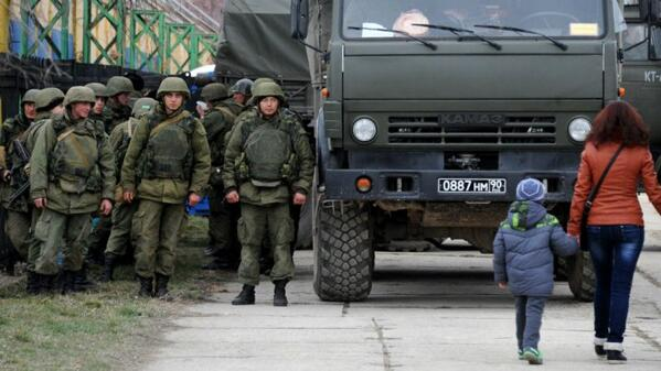 Russia bolsters forces on Crimean border Crimea