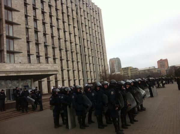 Tensions in Donetsk