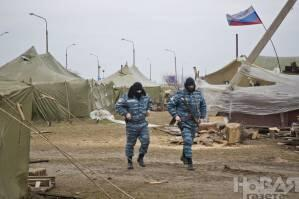Russia troops already deployed in mainland Ukraine near Chongar