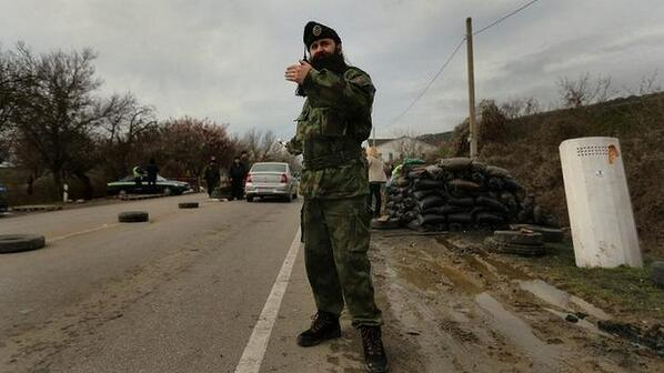 Chetniks, known for rape, murder & ethnic cleansing, have arrived to back Russia in Crimea