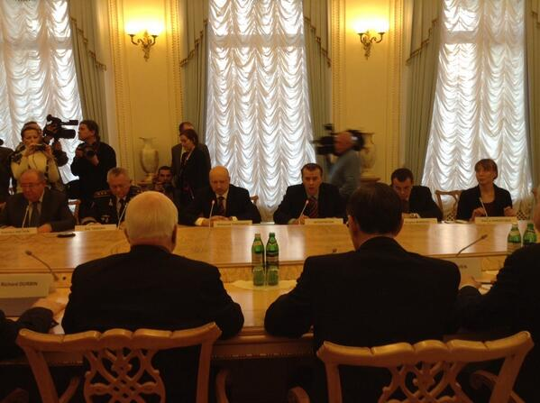 Delegation of U.S. senators met with representatives of the NSDC of Ukraine