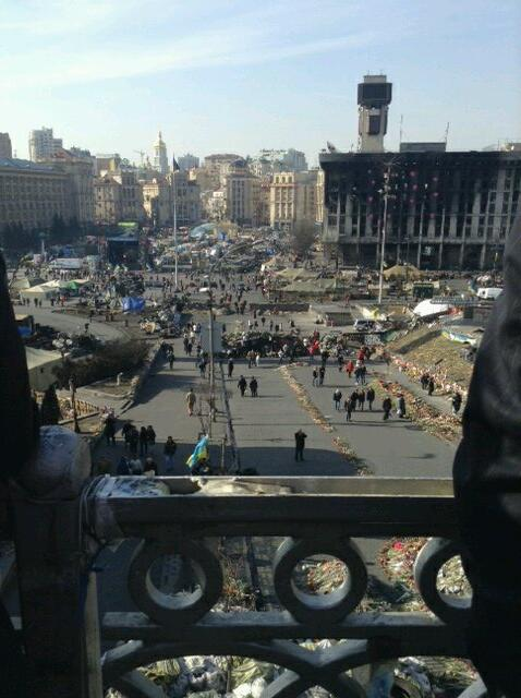 McCain: View of the Maidan today