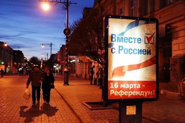 Polls of Crimean Referendum closed at 8 p.m