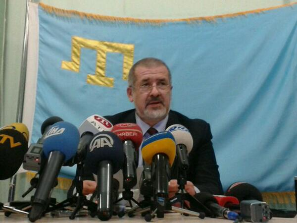 Chubarov: yesterdaybreferendum was attended by one thousand Crimean Tatars