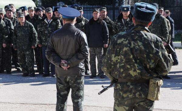 Ukraine Orders Military Withdrawal From Crimea