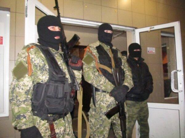 Unknown armed men in Donetsk region shoot at Ukrainian forces