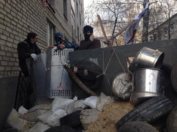 Barricade in Slavyansk