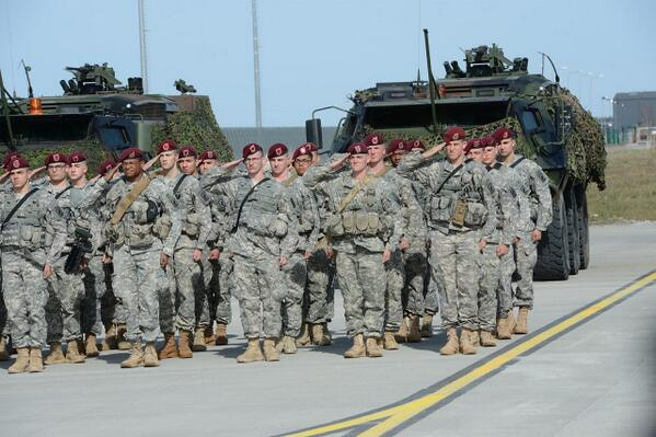 150 US paratroopers arrived in Estonia