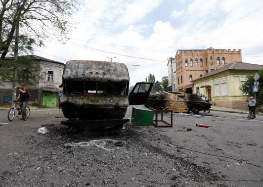 Mariupol: Ukraine army reclaim strategically crucial port city from militants
