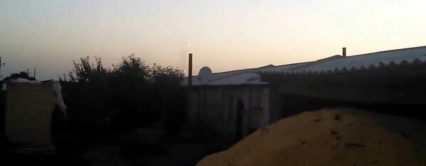 Grad MRLS attack in Slavyansk (video claims) https://t.co/nZLuffXGih