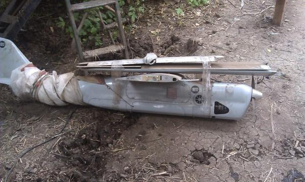 Ukrainian army shot down another Orlan-10  drone uav