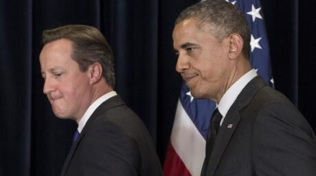 Obama and Cameron discussed further sanctions against Russia