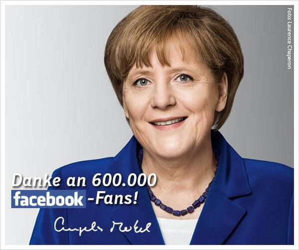 Angela Merkel is subjected to a Ukraine-related Ribbentrop shitstorm on her Facebook