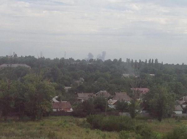Explosions in Snizhne