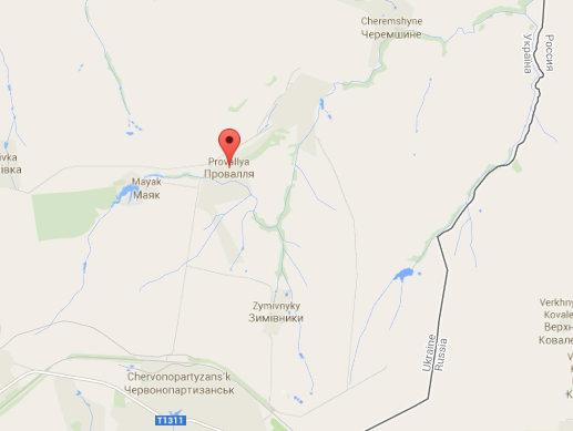 Militants shelled Ukranian army using GRAD near Provallya