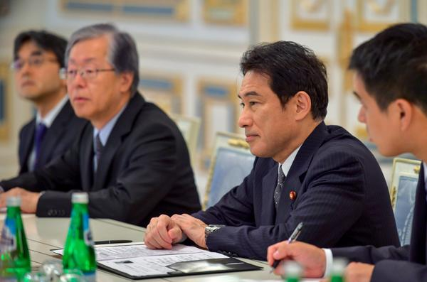 Japan reassures Ukraine in strong support - meeting of the President of Ukraine with FM of Japan