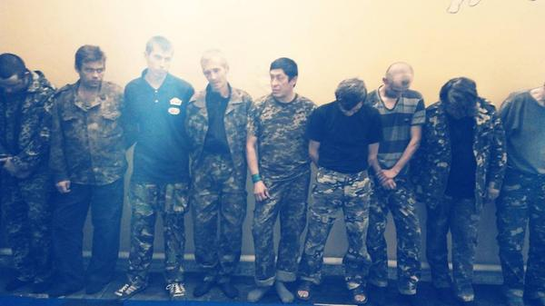 National Guard detained some  terrorists near Luhansk