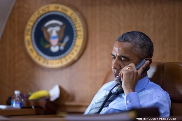 @BarackObama called Malaysian PM and Ukrainian President