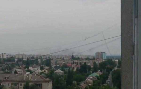 MRLS GRAD shelling in Severodonetsk