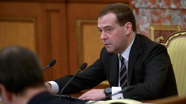 RUS PM Medvedev: Any sanctions won't hurt our economics