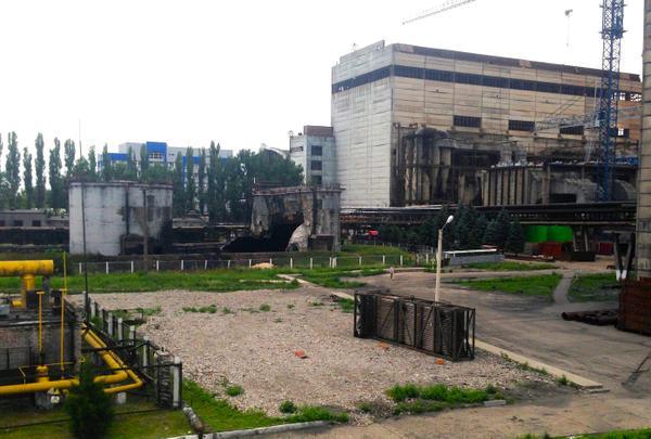 Power station in Mykolaivka. Serious damage everywhere